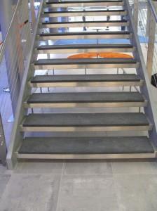 Modern Stone Stair Treads