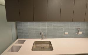 Kitchen Sink White Stone Top, Kitchen Wall Tile