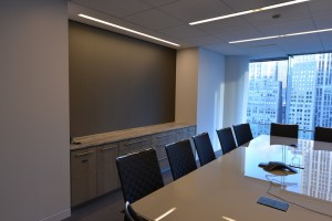 Rectangular stone conference room office table