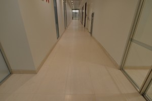 Light colored Hallway Floor paver