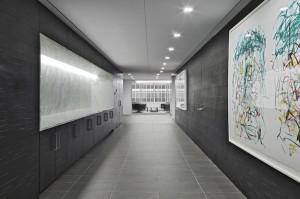 Hallway Gray Floor paver