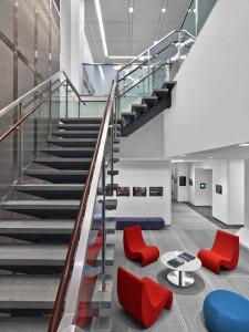 Gray Modern Stone Stair Treads